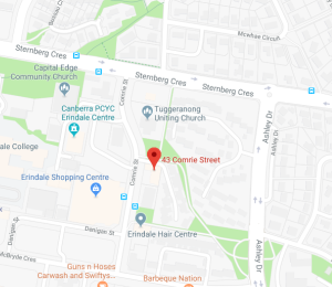 Erindale clinic location map